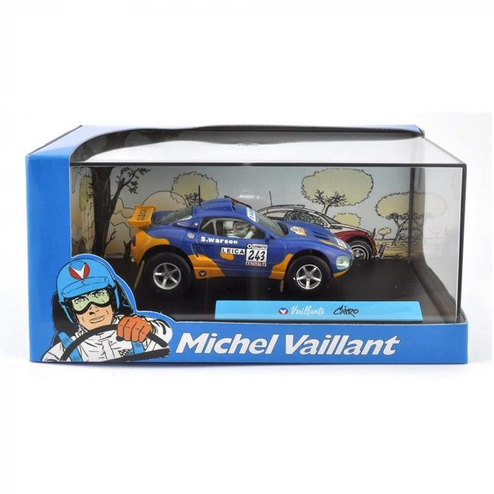 Coche de colección Michel Vaillant IXO Miniatura Cairo 1/43 (2008)