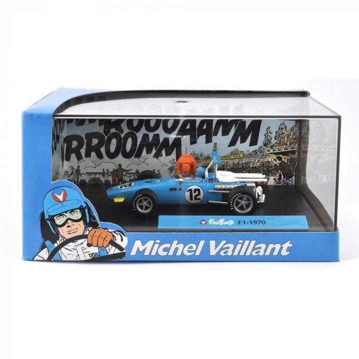 Collectible Michel Vaillant Miniature Car IXO F1-1970 1/43 (2008)