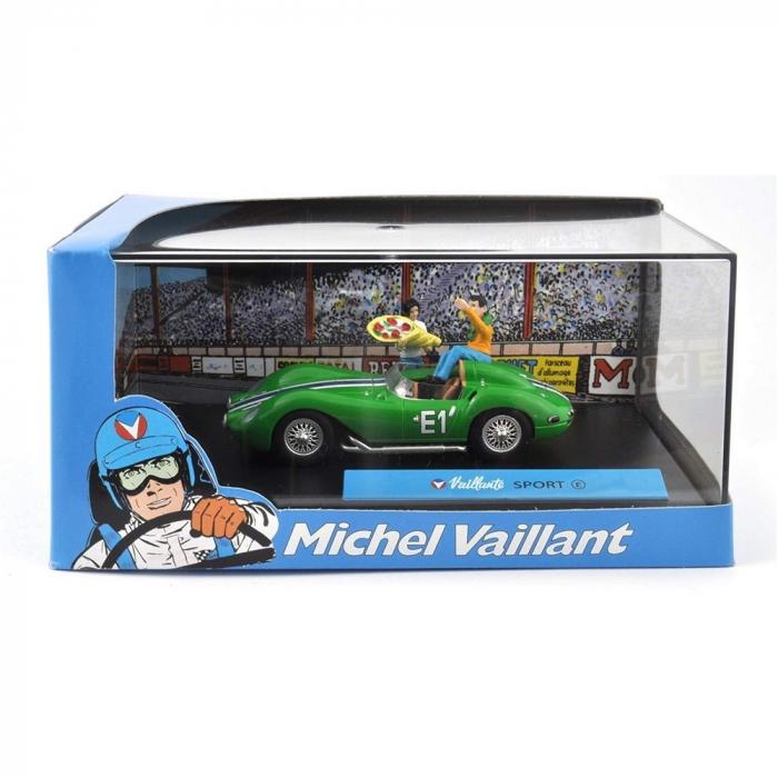 Collectible Michel Vaillant Miniature Car IXO Sport E 1/43 (2008)