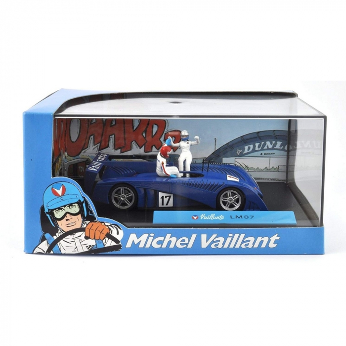 Voiture de collection Michel Vaillant IXO Miniature LM07 1/43 (2008)