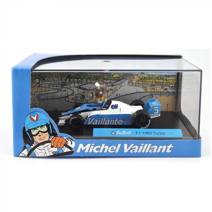 Collectible Michel Vaillant Miniature Car IXO F1-1982 Turbo 1/43 (2008)