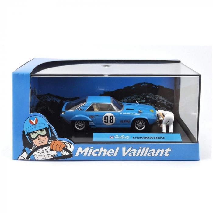 Collectible Michel Vaillant Miniature Car IXO Commando 1/43 (2008)