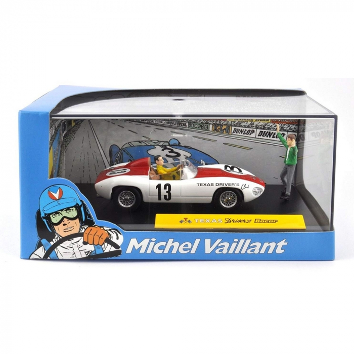 Voiture de collection Michel Vaillant IXO Miniature Texas driver's 1/43 (2008)