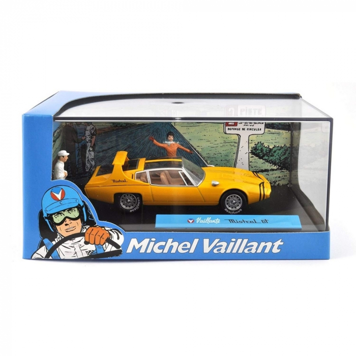 Voiture de collection Michel Vaillant IXO Miniature Mistral GT 1/43 (2008)