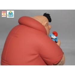 Collectible figurine the Smurfs, Bigmouth Smurf and Papa Smurf (2019)