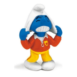 The Smurfs Schleich® Figure - Football Smurf Trainer (20529)