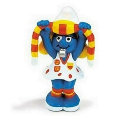 The Smurfs Schleich® Figure - Football Smurfette Supporter (20531)