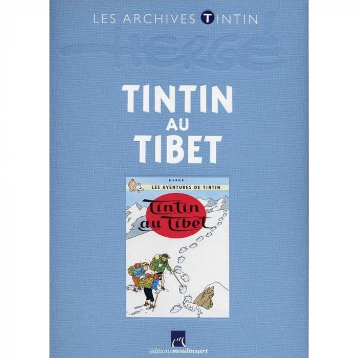 Los archivos Tintín Atlas: Tintin au Tibet, Moulinsart FR (2010)