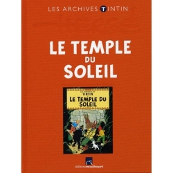 Les archives Tintin Atlas: Le Temple du soleil, Moulinsart (2010)