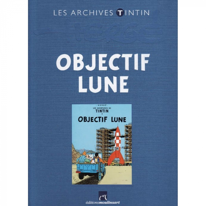 The archives Tintin Atlas: Objectif Lune, Moulinsart FR (2010)