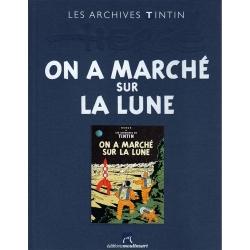 The archives Tintin Atlas: On a marché sur la Lune, Moulinsart FR (2010)