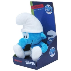 Talking Soft Cuddly Toy Puppy The Smurfs: The Classic Smurf 30cm (755334)
