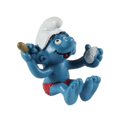 The Smurfs Schleich® Figure - Smurf taking a bath (40235)