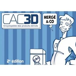 Comics figures catalog cac3d Tintin Pixi / Fariboles / Moulinsart / Leblon 2020