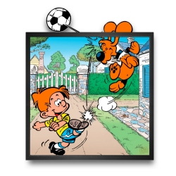 Collectible Frame Funky Frames Billy & Buddy, Off-side (50x50cm)