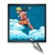 Collectible Frame Funky Frames Naruto, Deadly Throw (50x50cm)