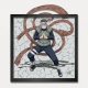 Collectible Frame Funky Frames Naruto, Link with nature (50x50cm)