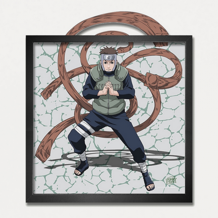 Cuadro colección Funky Frames Naruto, Enlace con la naturaleza (50x50cm)