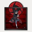 Cuadro colección Funky Frames Naruto, Sharingan (50x50cm)