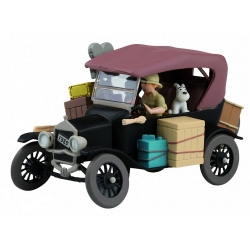 Collectible car Tintin in the Congo Black Ford T Nº02 29502 (2012)
