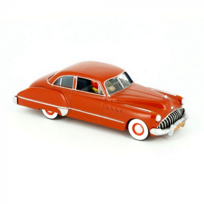 Car Tintin The Buick Roadmaster 1949 Land of Black Gold Nº10 (2012)