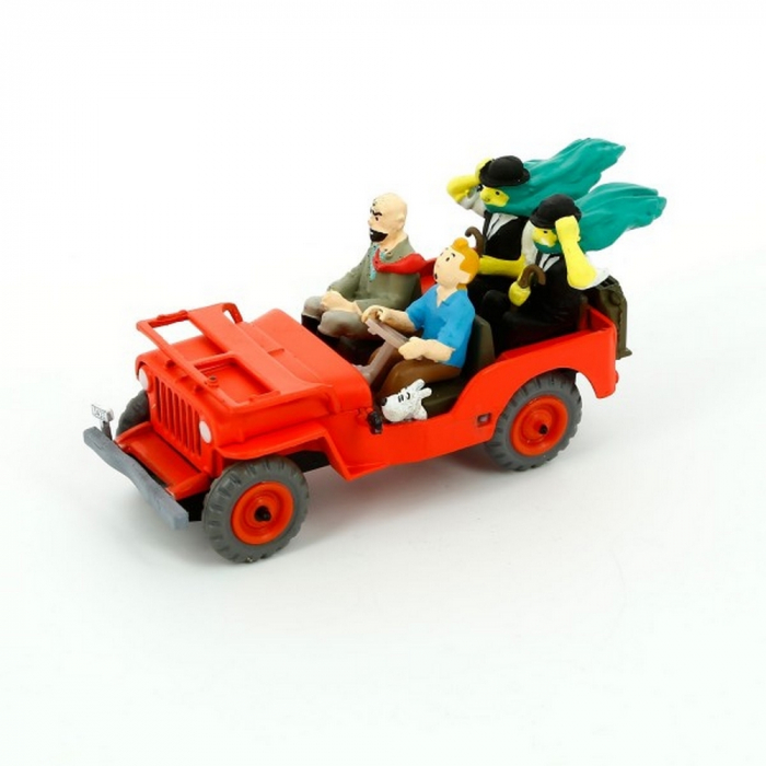 Collectible figure Tintin The Red jeep Land of Black Gold Nº1 29501 (2013)