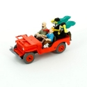 Collectible car Tintin The Red Jeep Willys MB 1943 Nº01 29501 (2012)