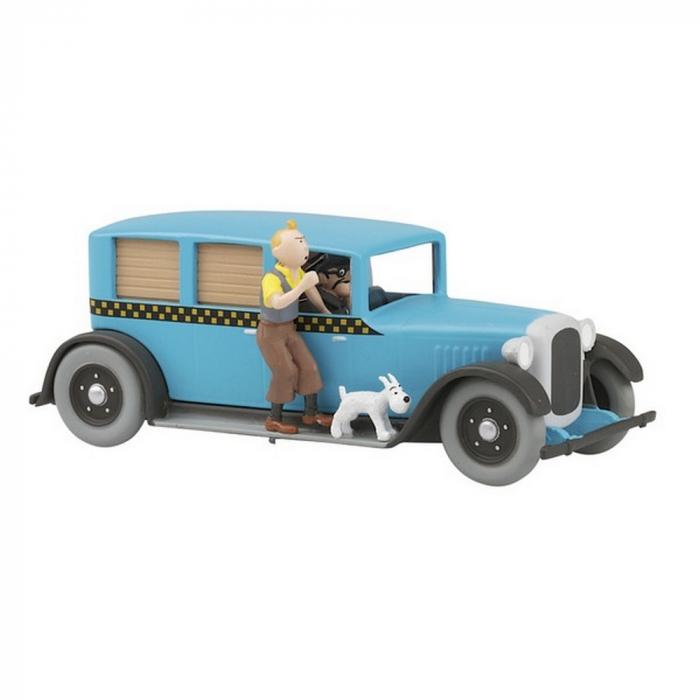 Figura El Taxi Checker 1929 de Tintín en América 1/43 Nº04 25280 (2012)