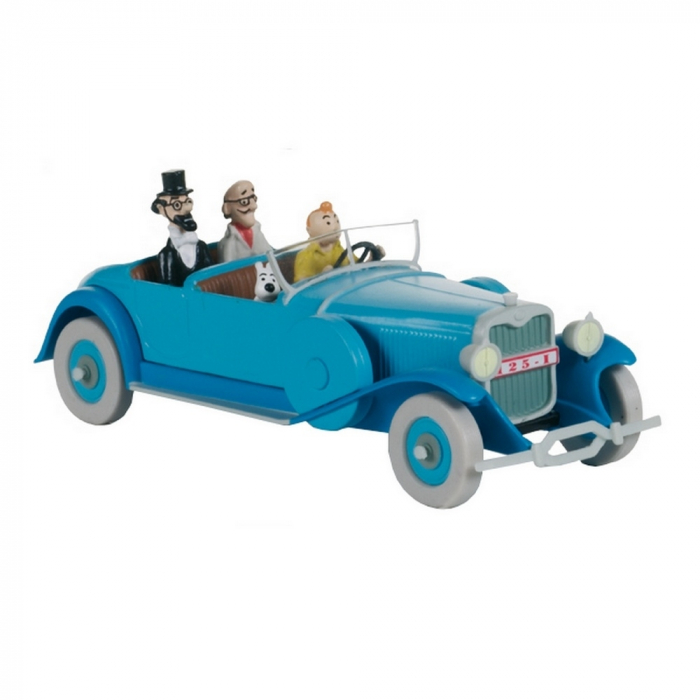 Collectible car Tintin the asylum Lincoln Torpedo Nº06 29506 (2012)