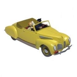 Voiture de collection Tintin et Haddock dans la Lincoln Zephyr Nº07 29507 (2012)