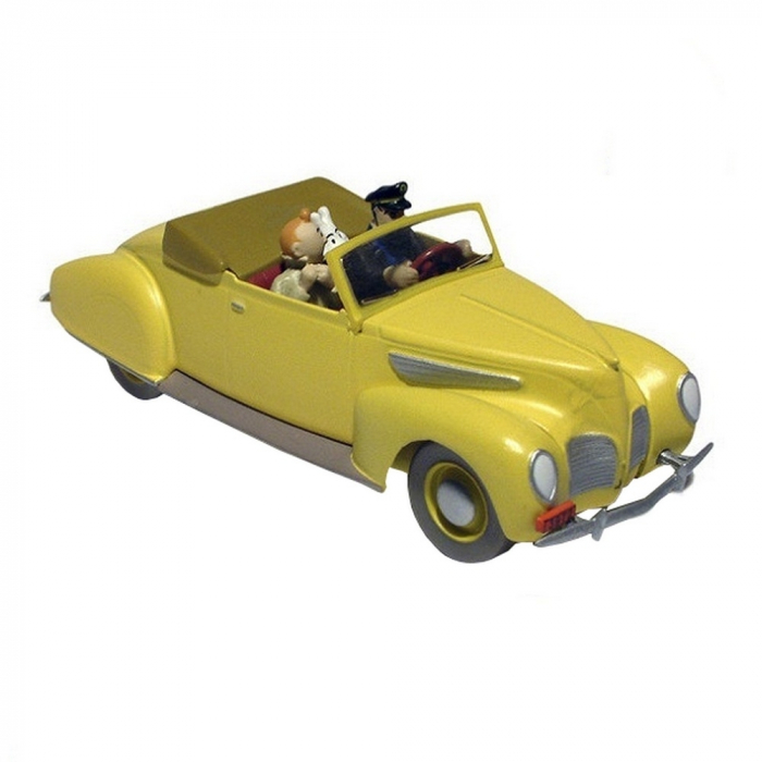 Collectible car Tintin and Haddock in the Lincoln Zephyr Nº07 29507 (2012)