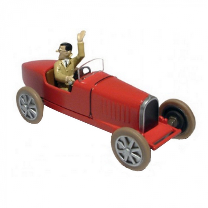 Collectible car Tintin, the Bugatti of Bobby Smiles Nº17 29517 (2013)