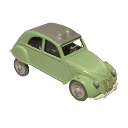 Collectible car Tintin, the Thomson and Thompson Citroën 2CV Nº29 29518 (2013)