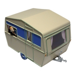 Collectible car Tintin and Snowy in the caravan Nº20 29571 (2013)
