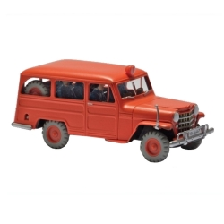 Collectible car Tintin, the firemen's jeep Nº21 29574 (2013)