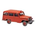 Collectible car Tintin, the firemen's jeep Nº21 29574 (2013)
