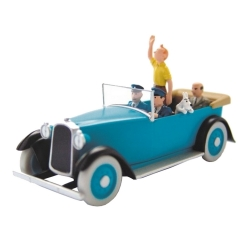 Coche de colección Tintín en el vehículo de ostentación Nº15 29576 (2013)