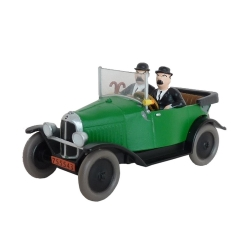 Collectible car Tintin, Thomson and Thompson in Citroën 5HP Nº12 29577 (2013)