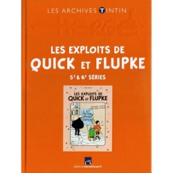 The archives Tintin Atlas: Les Exploits de Quick et Flupke 5/6 FR (2013)