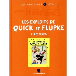 The archives Tintin Atlas: Les Exploits de Quick et Flupke 7/8 FR (2013)