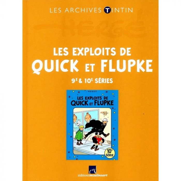 The archives Tintin Atlas: Les Exploits de Quick et Flupke 9/10 FR (2013)