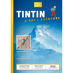 Revista Moulinsart GEO Edition: Tintín, c'est l'aventure, Montagne Nº3 FR (2019)