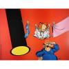 Póster Offset Tome & Janry, el Pequeño Spirou con el señor Colilla (40x30cm)
