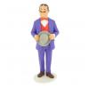 Figura de colección Tintín Serafín Latón Moulinsart 25cm 46013 (2019)