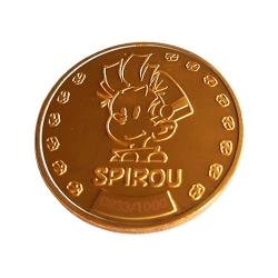 Médaille de collection Spirou et Fantasio avec Spip et Marsupilami (2019)