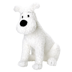 Soft Cuddly Toy Tintin: Snowy sitting 20cm 35124 (2002)