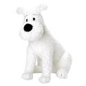Soft Cuddly Toy Tintin: Snowy sitting 20cm 35124 (2002)