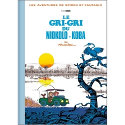 Album de luxe Black & White Spirou et Fantasio Le gri-gri du Niokolo-Koba (2019)