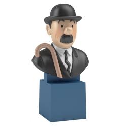 Buste de Tintin: Dupond Moulinsart PVC 7,5cm 42493 (2017)