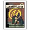 Póster cartel offset Blake y Mortimer, La Marca Amarilla (28x35,5cm)